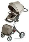 Stokke Xplory Newborn 2014 V3, V4 Stroller in Brown, Baby stroller