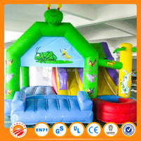 2015 Hot selling commercial cheap indoor bouncers jumper inflatable castle for adults and kids