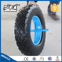 Solid rubber PU wheel 4.80/4.00-8