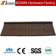 villa metal roof tile /stone coated aluminum roofing /corrugated shingle tile