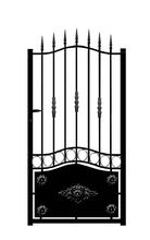 Alluminio Gare/elettrico cancello/esterno in alluminio cancello