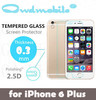High quality tempered glass protector for iphone6s plus with 0.3mm thickness