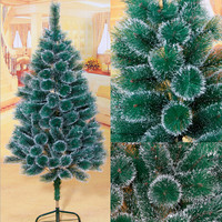 White pine needle tree 120 cm 150 cm 180 cm high quality christmas tree decoration