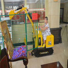 hot sale kid mini excavator to play sand with low price