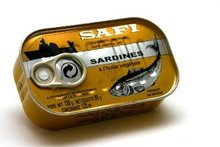 SAFI (Jaune/Yellow) canned sardines in oil