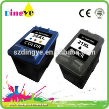 C9351C C9352C for hp 21xl 22xl remanufactured cartridges high quality office supplier