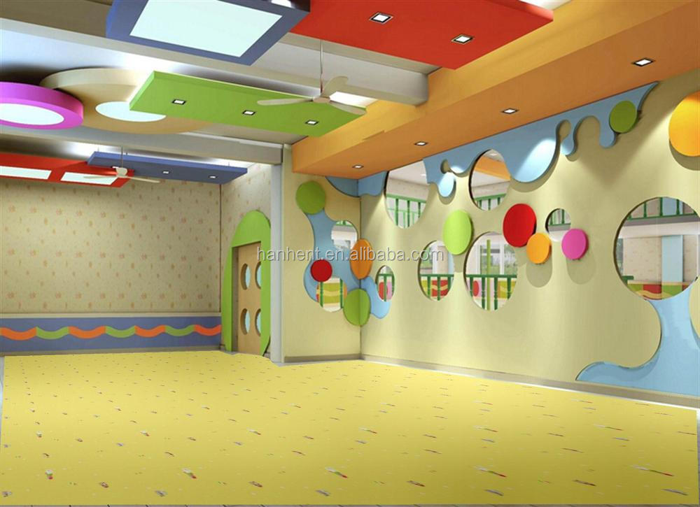 Безопасности экологичный хорошо доставленных пвх толщиной винил ролл для детского сада