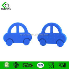 Present for kids Silicone car Teether Baby Toy Car Teether