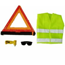 auto car safety tool reflective emergency tool kit