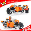 promotion toy for boys gift items plastic building block motorcycle model motorbike toy JOY JOY TOWN H25410