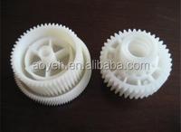 plastic double spur gear