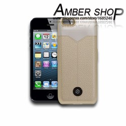 3800mAh high capacity Classic design of Amber shop external backup battery charger case for iPhone 6 inch 4.7''