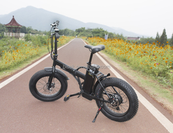 Hot sale foldable 20*4.0 fat tire e bike