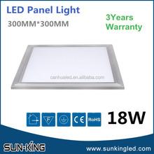 Super quality led 300x300 panel light 18W led slim ceiling panel for shopping mall