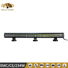 news design 4WD sxs offroad cheap 234W led light bar KR9022-234