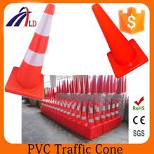 "PVC-70-Hot Sale Type 28"" Soft Reflective PVC Traffic Road Cone"