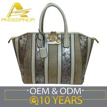 Factory Price Customized Logo Fashion Handbag Export