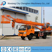 Straight boom aerial working hydraulic platform with popular brand