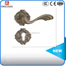 zinc alloy door handle lock/door locks and handles
