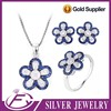 Exquisite workmanship aaa cz stones 925 sterling silver jewelry canada