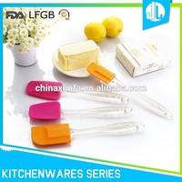 No-stick home kitchen FDA safety silicone kitchen utensil set