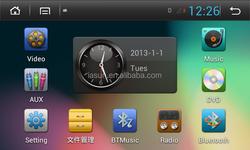 Car DVD for H-onda Pilot 2013 with Gps 7 inch RDS iPod Radio Bluetooth 3G Wifi 20 disc copying S100 platform nice design