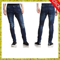 Young man fashion prewashed casual jean/ New model brand men jeans pants, straight waist trousers