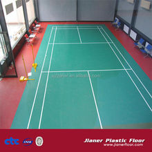 4.5mm Lychee surface pvc floor for badminton