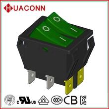 HS9-B-04K0L2-BG03 good quality new coming water pump spst on/off rocker switch