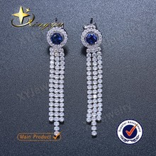 Latest earring design silver earring designs for girls XYE101029
