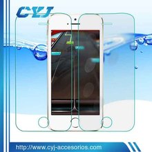 9H extreme scratch resistance 99% transparency for iphone 5 glass screen protector