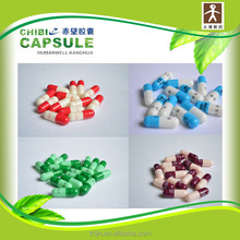 Different sizes of empty hard gelatin capsules for vending machine