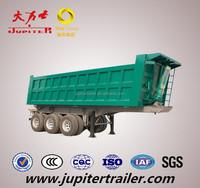 Tri Axles Tipper Semi Trailer Truck
