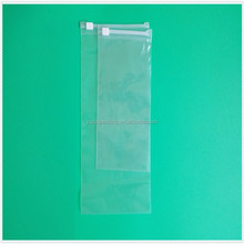 Clear plastic resealable gift bags