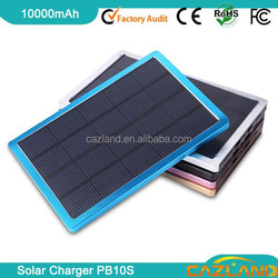 Customized foldable solar bag / large solar panel mobile solar charging