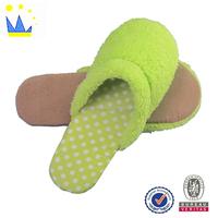 custom close toe slipper fleece eva sole women flat slippers fashion