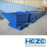 WD series forklift tipping bin