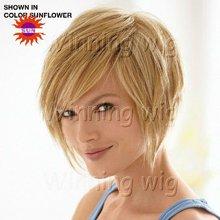 hot sell synthetic Kanekalon fiber wig no shedding/tangling NYSWIG-678