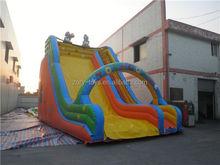 children inflatable slide, ZY-DS816 fresh inflatable slide