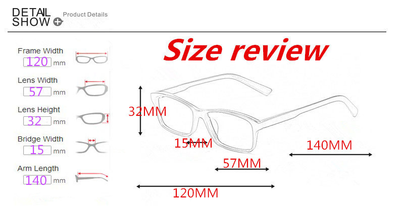 how to know glasses frame size