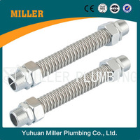 Long service life Air Conditioning Stainless Steel Bellow with copper connector ml-9105