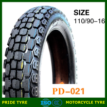 China motocycle tire manufacturer 110/90-16TL 110/90-17TL china motorcycle tyre
