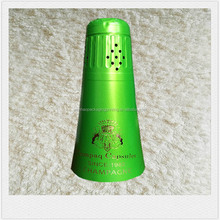 High quality green Aluminum foil capsule for champagne sealing