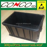 esd antistatic conductive container box