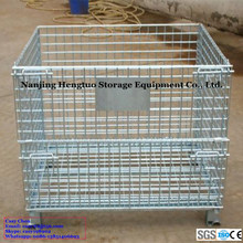 Collapsible Storage Metal Wire Containers with CE Certificate