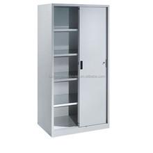 Office files/documents storage steel sliding door cabinet