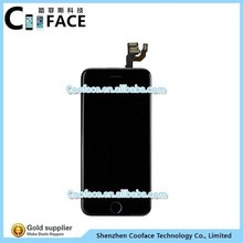 """For iPhone 6 4.7"""" Full LCD Complete+Front Camera+Earspeaker+Home Button Flex Assembly Conversion Kit"""