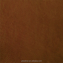 Genuine cow finished leather for shoes upper,bag ,cap