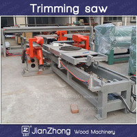 Plywood triming saw/Double edge trimming saw /Zero diagonals error plywood trimming saw/plywood saw cutting machine