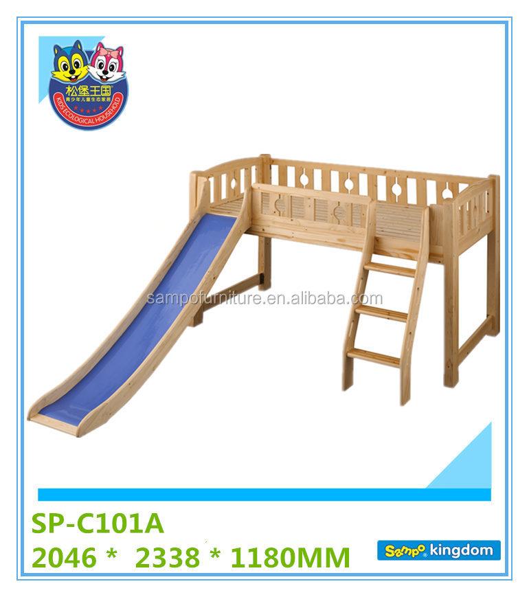Loft Bed with Slide 770 x 869